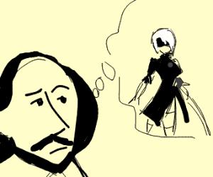 Shakespeare ponders upon 2B