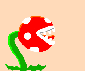 piranha plant in smash