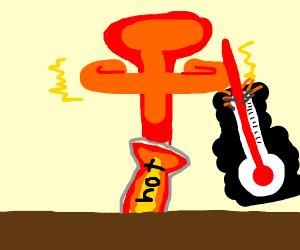 Hot bomb