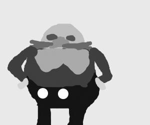 """Dr. """"Eggman"""" Robotnik (hands on hips)"""