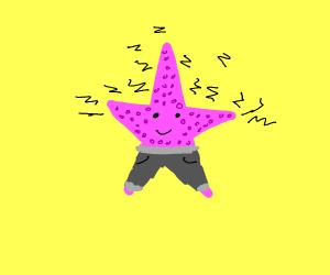 Electric Starfish in Sweatpants