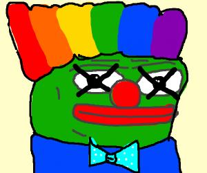 Pepe Frog is happy he has died
