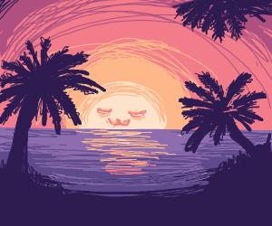 sunset :D