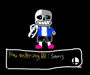 Sans in smash