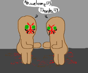 SCP-173 Welcomes himself