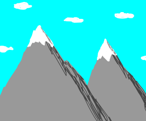 Mountains!