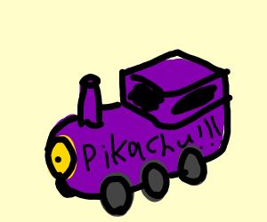 Purple Pikachu Train