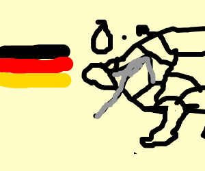 germany on a map