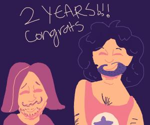 congrats 2 years