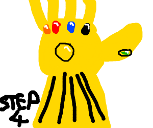 Step 3: collect all infinity stones