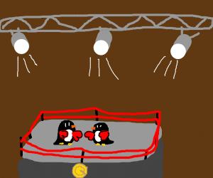 Penguin Boxing