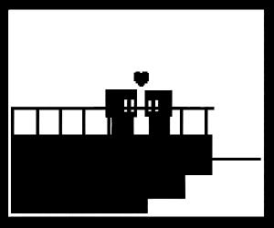 A lovely couple on a ship <3