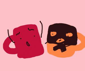 Mug getting mugged