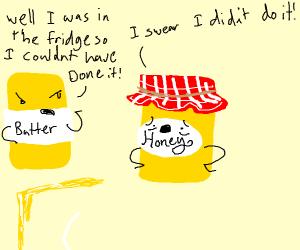 Lying honey