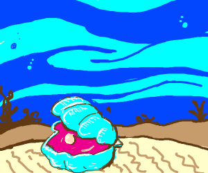 Oyster in the Ocean