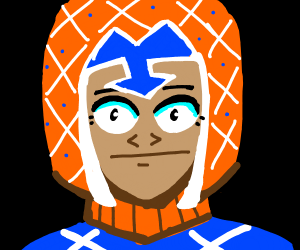 Mista staring into the abyss