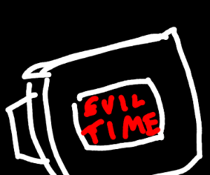 computer says it's evil time