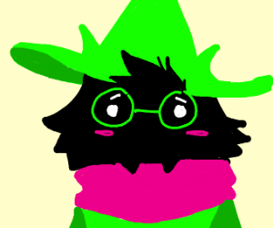 Ralsei being adorable, as usual