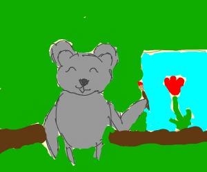 Artist koala