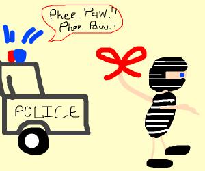 Ribbon Burglar