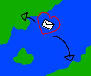 Sending love from far away