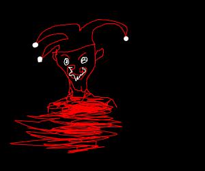 creepy murderous jester