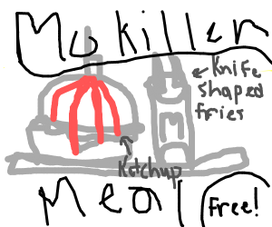 The new Mckiller meal FREE!