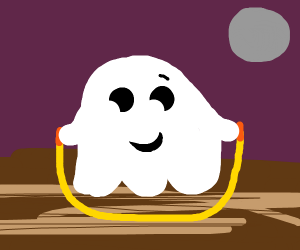 Ghost jump roping