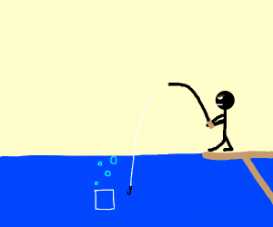 Fishing for a Square