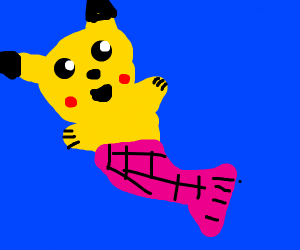 draw your fav pokemon as a mermaid for mermay