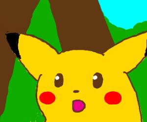 Suprised Pikachu