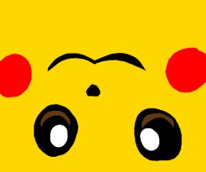 Upsidedown Pikachu