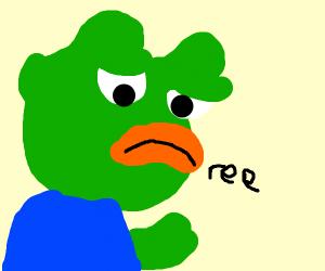 pepe saying ree