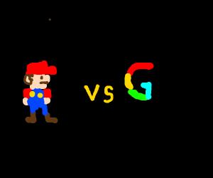 Mario Vs. Google
