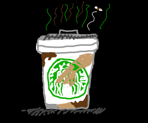Trashbucks coffee