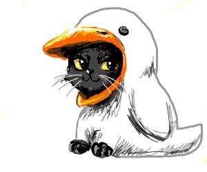 A goose is a cat