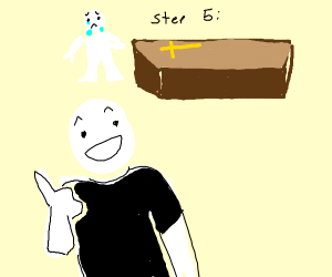 Step five: Go to the funeral, just for fun