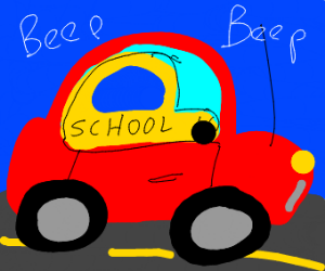 If school buses were in cars