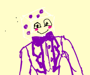 Dice man from cuphead