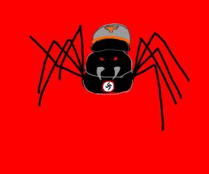 Angry nazi spider