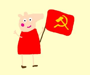 Peppa pig establishes communism