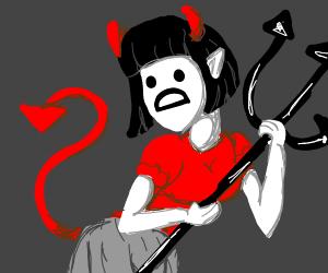Devil girl D: