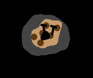Cookie In a black hole