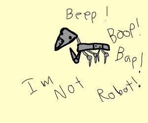 Robot Praying Mantis