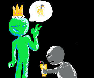 slave obeying green master