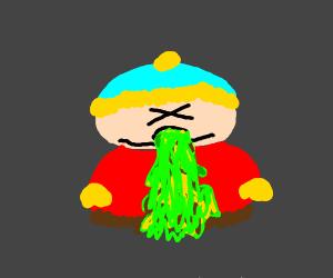 sick Cartman (south park)