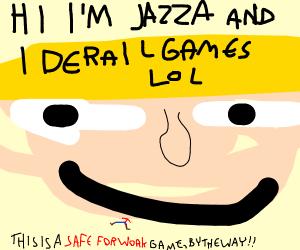 jazza head. ( my own add: WIth nsfw Nipples)