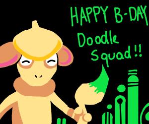 Happy Birthday Doodle Squad!