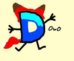 D becomes furry