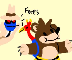 G-men follow Banjo Kazooie